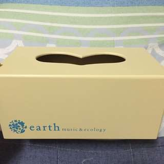 earch木製面紙盒