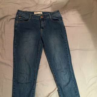 Blue Cotton On Jeans Skinny
