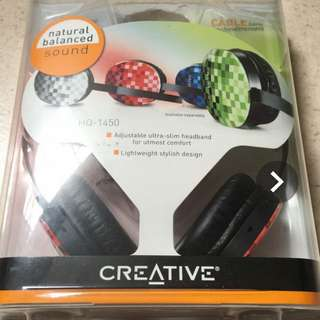 Creative Headphone HQ-1450 (Red)