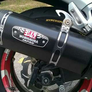 Yoshi R77 Full Carbon Exhaust For Busa Gen 2