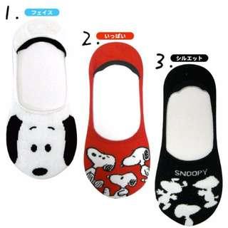 日本帶回 史奴比 隱形襪 船型襪 矽膠防滑淺 一雙