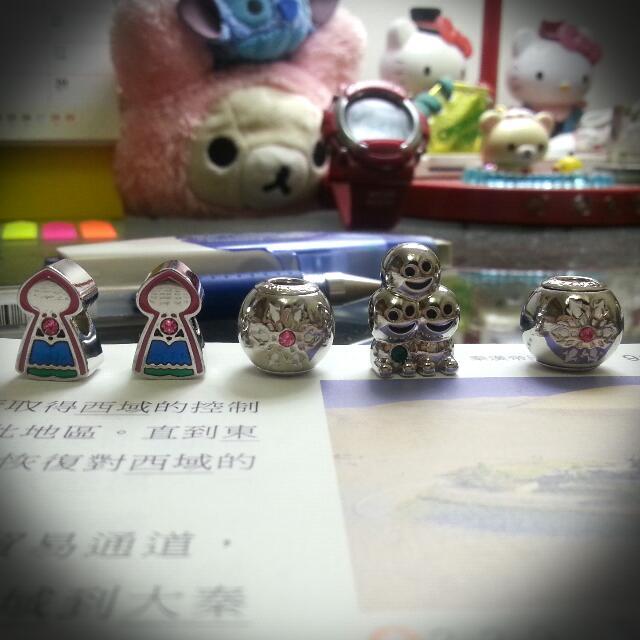 7-11施華洛世奇水晶吊飾