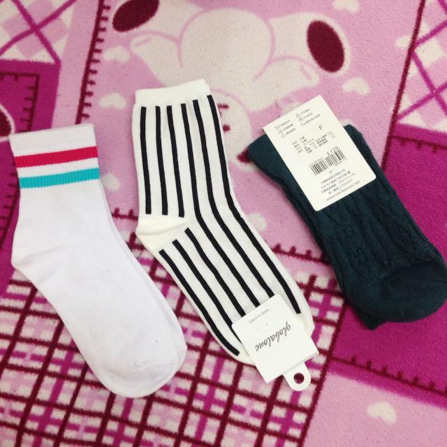 各類韓國襪子台灣襪子