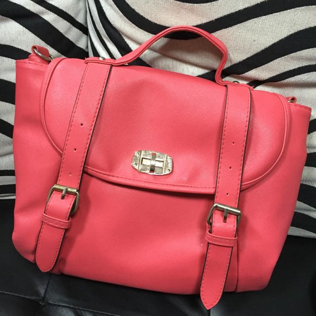 粉色,三用包