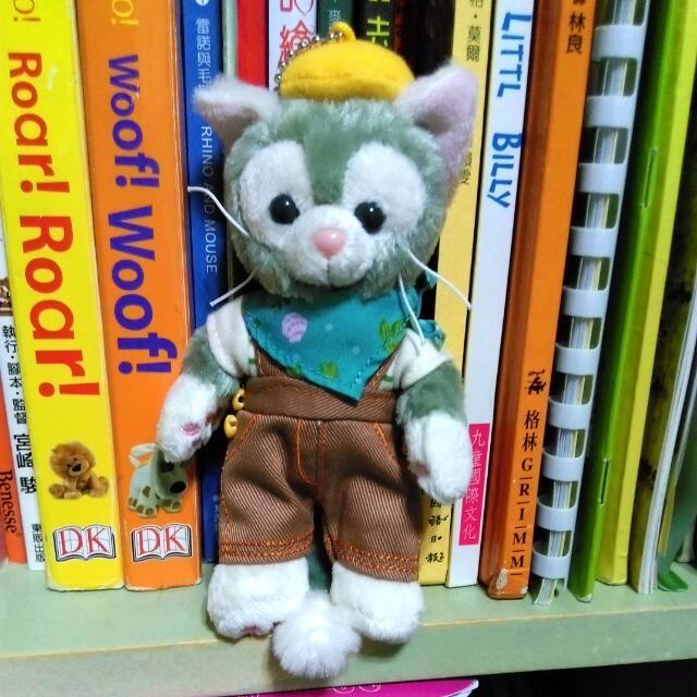 全新絕版日本迪士尼春季站款傑拉東尼畫家貓