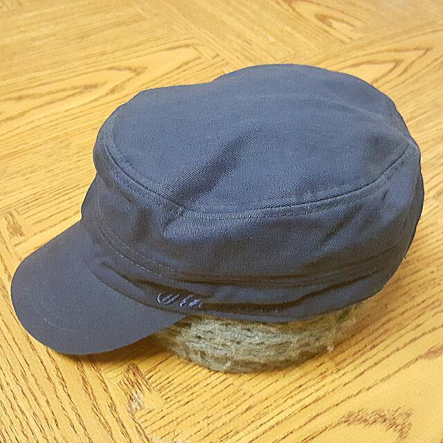 深藍 軍帽 日本入手