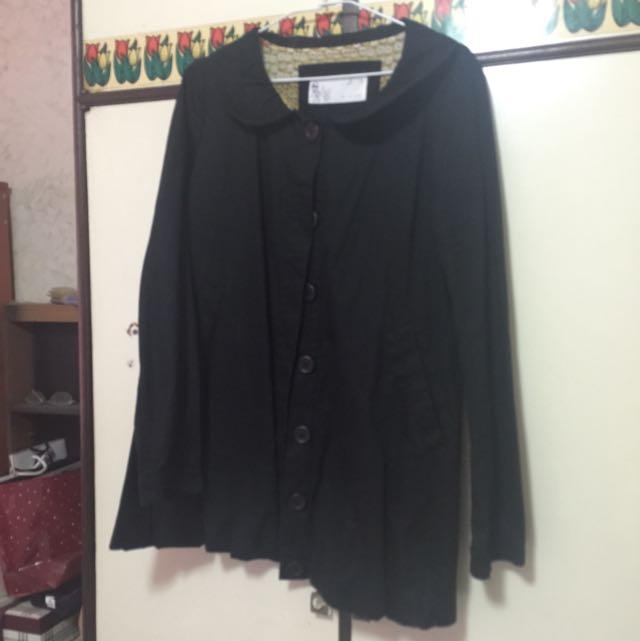 a la sha黑色外套
