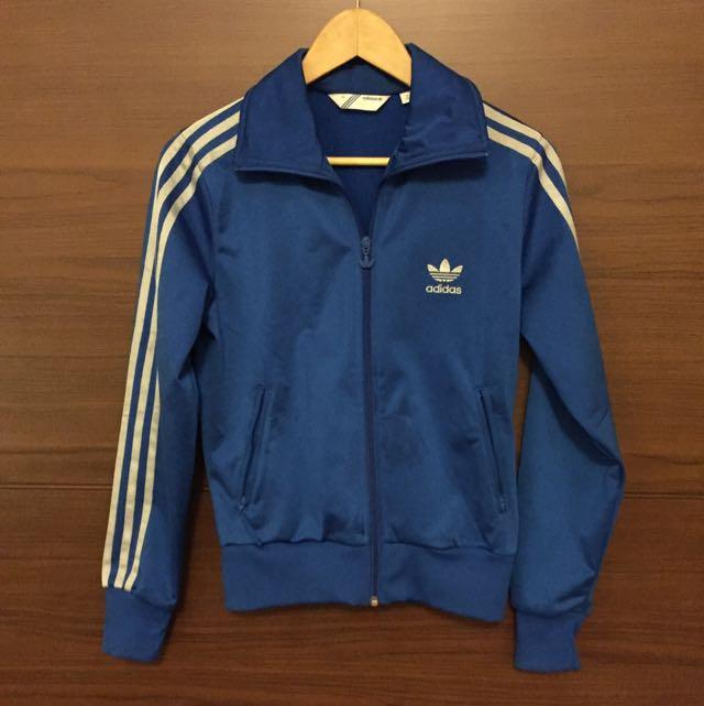 Adidas 藍色運動外套