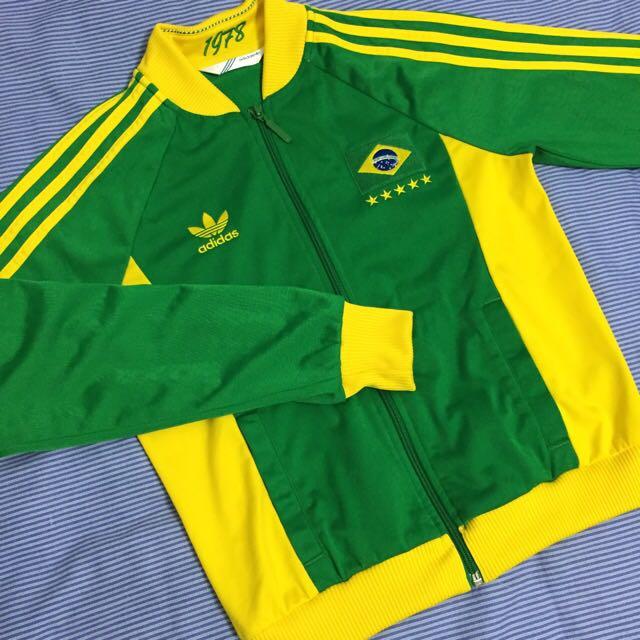 Adidas 運動外套 巴西世足限定版