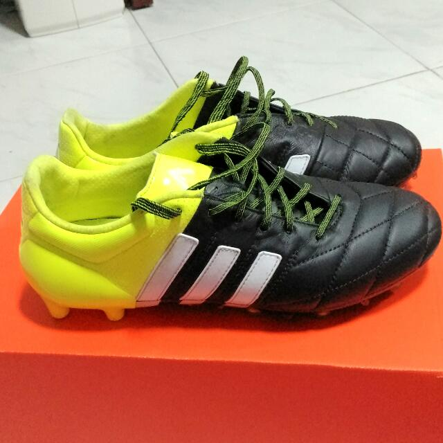 Adidas Ace 15.1 FGAG Leather, Sports on Carousell