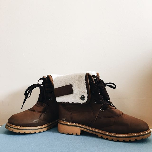 Brown Winter Boots!