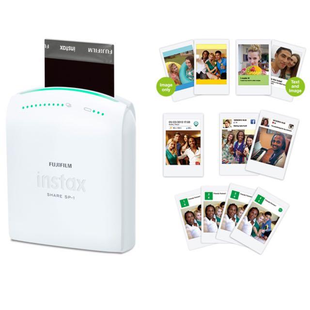 公司貨Fujifilm Instax Share Sp-1拍立得相印機