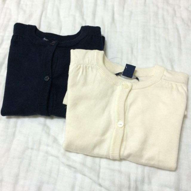 Gap米白色針織外套