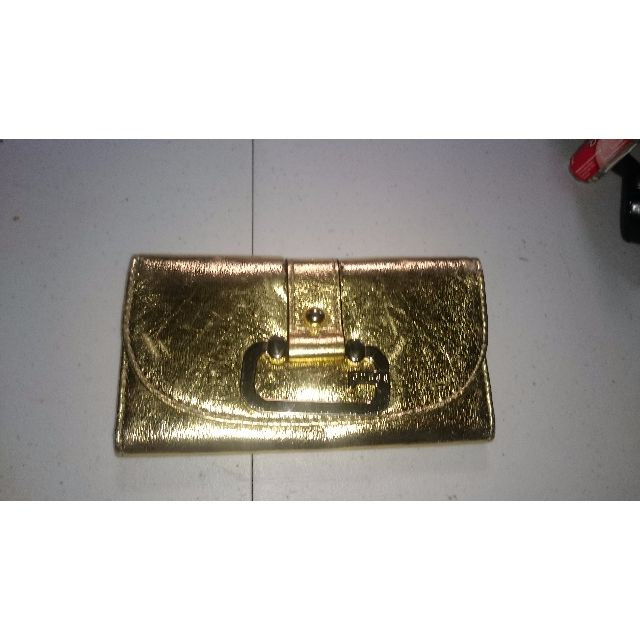 Gold Guess Womens Purse