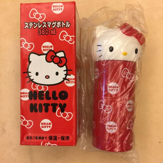 全新-三麗鷗Hello Kitty保溫杯