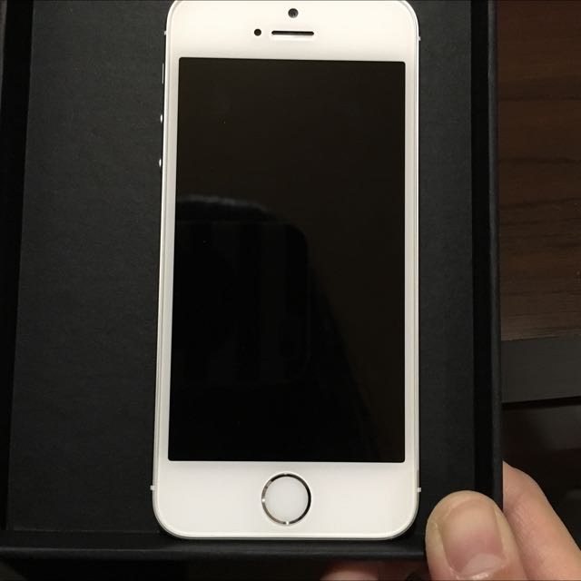 iPhone 5s 16G 銀 二手