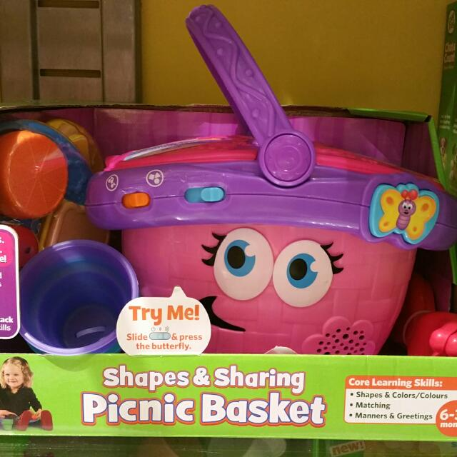 Leapfrog Shapes Sharing Picnic Basket Babies Kids On Carousell