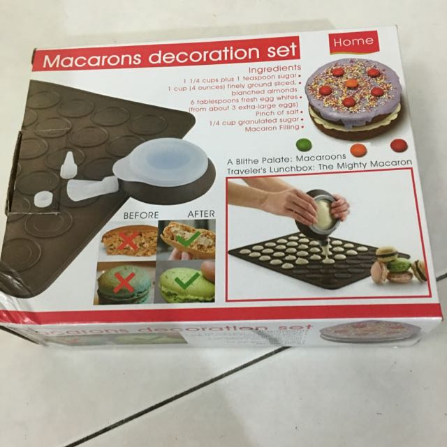 Macaron Decoration Set Home Liances
