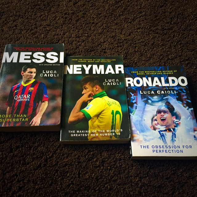 Messi, Neymar, Ronaldo Books As Good As New