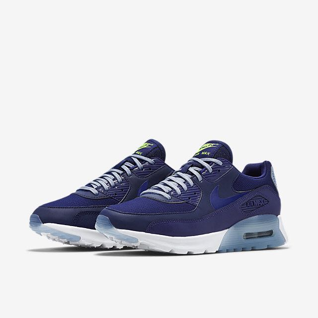buy online 59da0 4c261 Nike Air Max 90 Ultra Essential (Women) - Loyal Blue/Blue Grey ...