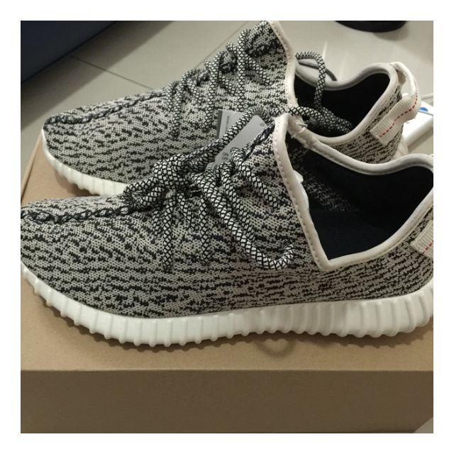 65209a159d634 ... zapatos adidas yeezy originales ORIGINAL Adidas Yeezy Boost 350 Turtle  Dove Kanye West Sport Shoes .