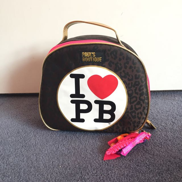 Paul's Boutique Large Cosmetic Bag