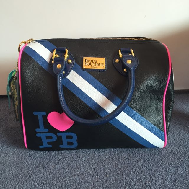 Paul's Boutique London Molly Varsity Bag
