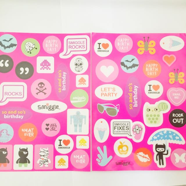 Smiggle Stickers
