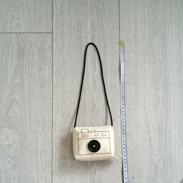Suussies handmade fabric camera
