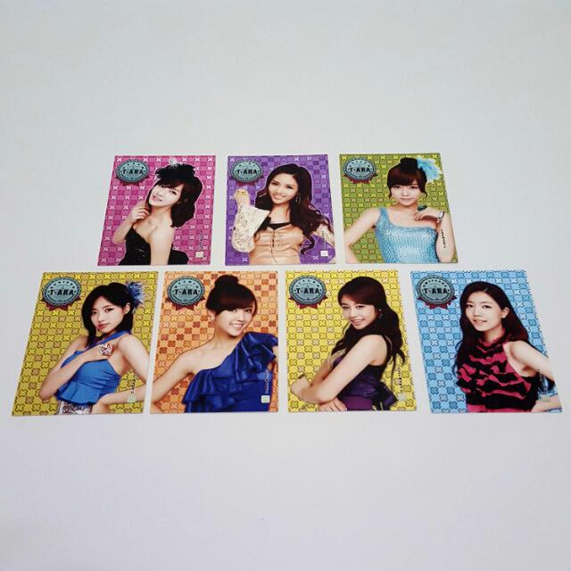 T-ara Star Collection Card Set