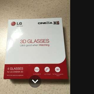 LG 3D Glasses AG-F310 (4pcs In Box)
