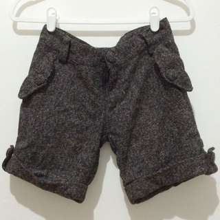 Dark Grey Short Pants