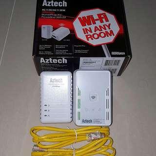 Aztech Homeplug AV 200mbps (HL113E/HL113EW)