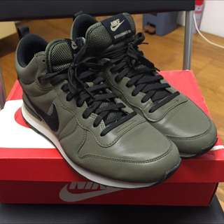 ~全新品~ NIKE INTERNATIONALIST MID QS / US:10 / 3M反光 / 墨綠