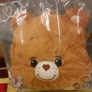 彩虹小熊  抱枕頭 保暖 CARE BEARS