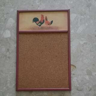 Vintage Feel Notice Board