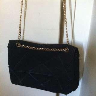 Seed Heritage Black Handbag