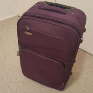62cm Purple Luggage
