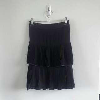 Alannah Hill black skirt/Sz. 12