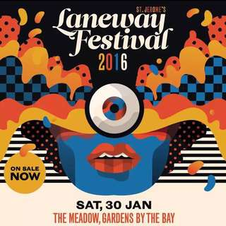 (reserved) 1 Laneway 2016 Ticket