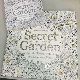 含運/Secret Garden 秘密花園著色本 ㊙️