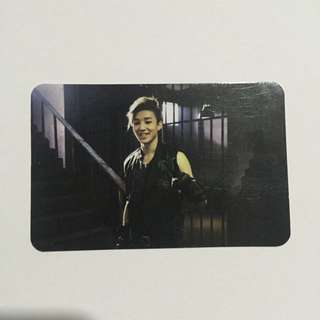 B.A.P Jongup ONE SHOT photocard