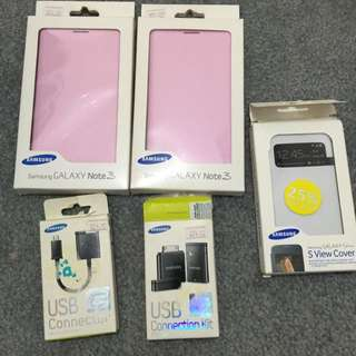 Samsung Note3 And Galaxy S4 Accessories