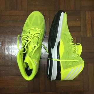 全新 Crazy Shadow2 螢光亮黃藍球鞋✨
