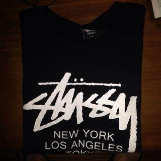 歡迎議價 Stussy Aw世界巡迴2015 Logo衛衣