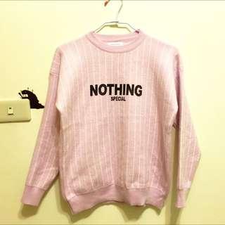 全新✨粉紅針織上衣✨