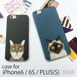 貓咪內心戲系列 iPhone6 iPhone6S PLUS 6s 手機殼 保護殼 軟殼 tpu殼 貓奴者們 貓咪 圖案