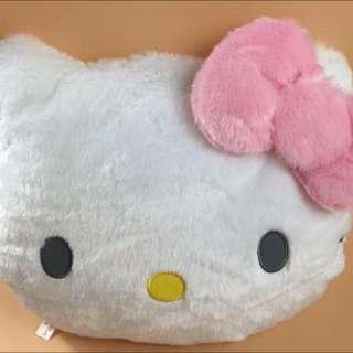 會發亮Hello Kitty 正版商品 臉夾LED燈抱枕靠墊