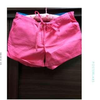 全新 桃紅 休閒褲 有兩件單件價$150含運