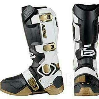 Scott Genius MX Boots Brand New Size 41/us8.5